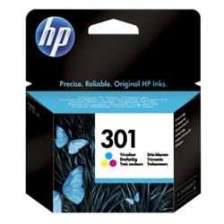 HP 301 oryginalny wkład atramentowy trójkolorowy