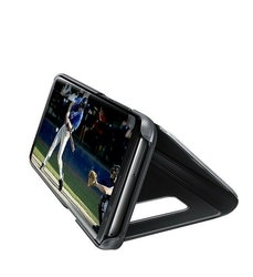 Samsung Clear View Standing cover S8+ Black
