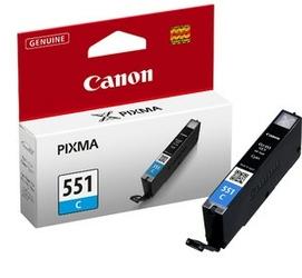 Canon Tusz CLI-551 CYAN 6509B001