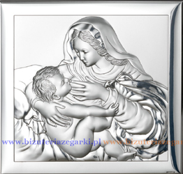 Obrazek VL800024L Matka Boska Karmiąca 12 x 12 cm