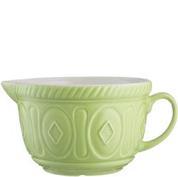 Naczynie ceramiczne na ciasto naleśnikowe Mason Cash zielone 2001.792