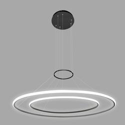 Altavola Design :: Lampa Ledowe Okręgi No.2 czarna out 3k Altavola Design - czarny