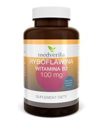 RYBOFLAWINA Witamina B2 100mg - 120 kapsułek