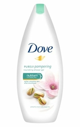 Dove Purely Pampering, Krem Pistacjowy i Magnolia, żel pod prysznic, 250ml
