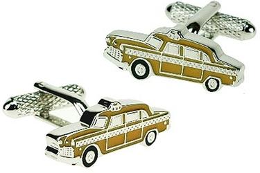Spinki do mankietów Żółta taksówka KC-542 Onyx-Art London