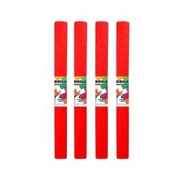Bibuła marszczona 50x200 cm - czerwona jasna - CZEJAS