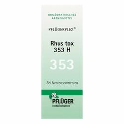 Pfluegerplex Rhus tox. 353 H Tabl.