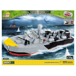 Small Army Patrol Torpedo Boat 480 klocków