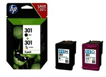 Oryg. zestaw HP Combo Pack 301 N9J72AE