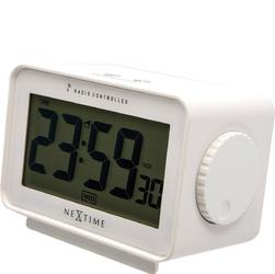 Budzik ze sterowaniem radiowym Easy Alarm Nextime biały 5202 WI
