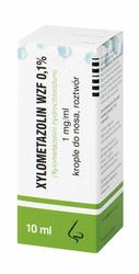 XYLOMETAZOLIN 0,1 krople 10ml