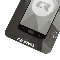 Qoltec Szkło hartowane ochronne do Huawei Mate 20 | 5D | czarne