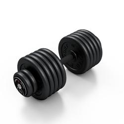 Hantla skr�cana na sta�e 59 kg - Marbo Sport - 59 kg