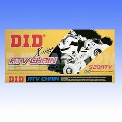 Łańcuch napędowy DID GB 520 ATV098 X2-ringowy wycz. złoty 2152022