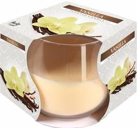 Bispol, świeca zapachowa w szkle, wanilia, 1 sztuka