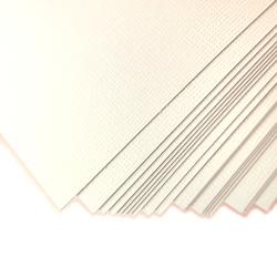 Karton ozdobny LEN 230gA4 biały - zestaw 20 sztuk - BIA - 20 SZTUK