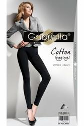 Gabriella 179 cotton 250 nero legginsy