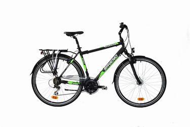 Rower trekingowy Saveno Odyssey GTS Green 2017