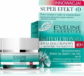 Eveline bioHyaluron 4D,skoncentrowany krem dzień i noc, 40+, 50ml
