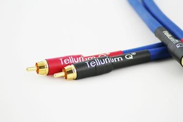 Tellurium Q RCA Blue interkonekt Długość: 1,0 m