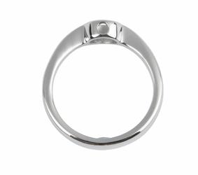 pierścionekbaza magnetyczny 2578 ze stali nierdzewnej polerowany