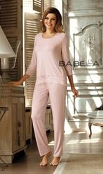 Babella Olimpia Morelowy róż piżama damska