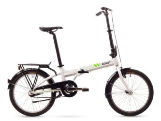 Rower miejski składany Romet Wigry 3 White 2016