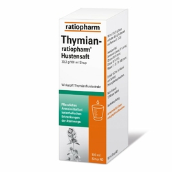Thymian Ratiopharm Hustensaft