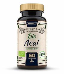 PharmoVit Bio Acai ekstrakt 5:1 x 60 kapsułek
