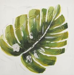 Obraz dekoracyjny liść 2 30x30 cm