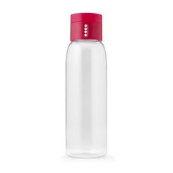 Butelka Dot Joseph Joseph ze wskaźnikiem spożycia wody różowa