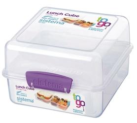 Pudełko śniadaniowe Lunch Cube ToGo 1,4l fioletowe