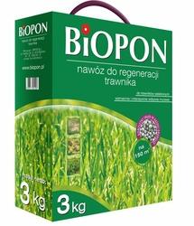Biopon, nawóz granulowany do regeneracji trawnika, 3kg