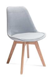 Krzesło FAGIO jasnoszare - Jasnoszary
