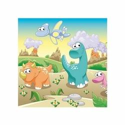 Dino, dinuś, dinozaury - reprodukcja