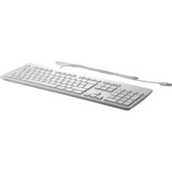 Klawiatura HP USB Business Slim szara