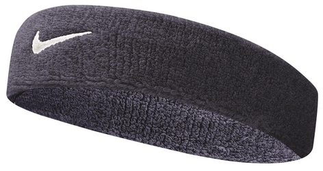 Opaska frotka na głowę Nike Swoosh - NNN07416OS-416