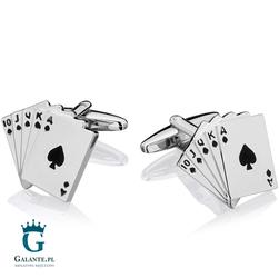 Spinki do mankietów Poker SD-1316