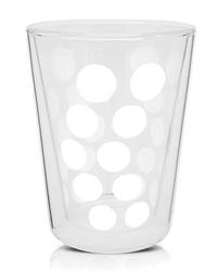Zak - Szklanka 350 ml z podw. ściankami, biała