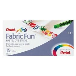 Pastele do tkanin Fabric Fun - 15 kolorów