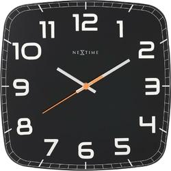 Zegar ścienny Classy Square czarny