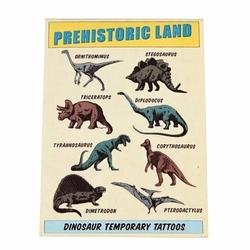 Zmywalne tatuaże dla dzieci dinozaury Rex London