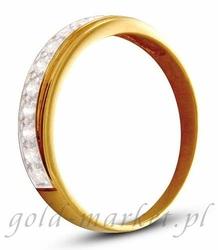 Pierścionek z żółtego złota AGP21G