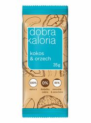Baton owocowy Kokos  Orzech 35g x 1 sztuka