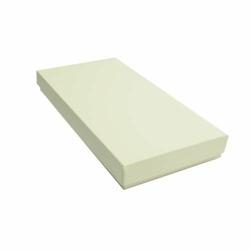 Pudełko na kartkę DL GoatBox - ecru z fakturą - ecru