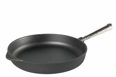 Patelnia do smażenia głęboka 28 cm ze stalową rączką Chef's Selection Skeppshult