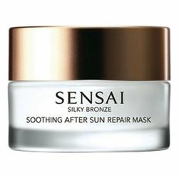 Kanebo Sensai Silky Bronze Soothing After Sun Repair Mask W maska do twarzy po opalaniu 60ml