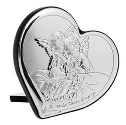 Obrazek Anioły Pamiątka Chrztu Świętego Serce Chrzest Grawer