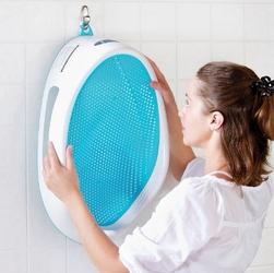 Leżaczek do kąpieli Angelcare niebieski