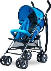 Caretero Alfa Niebieski Wózek Spacerowy Parasolka + PUZZLE